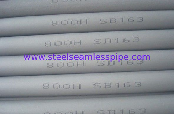 ASME SB 163 / ASTM B 407 / ASME SB 829 Incoloy 800H / 800HT / 800AT Nickel Alloy Pipe