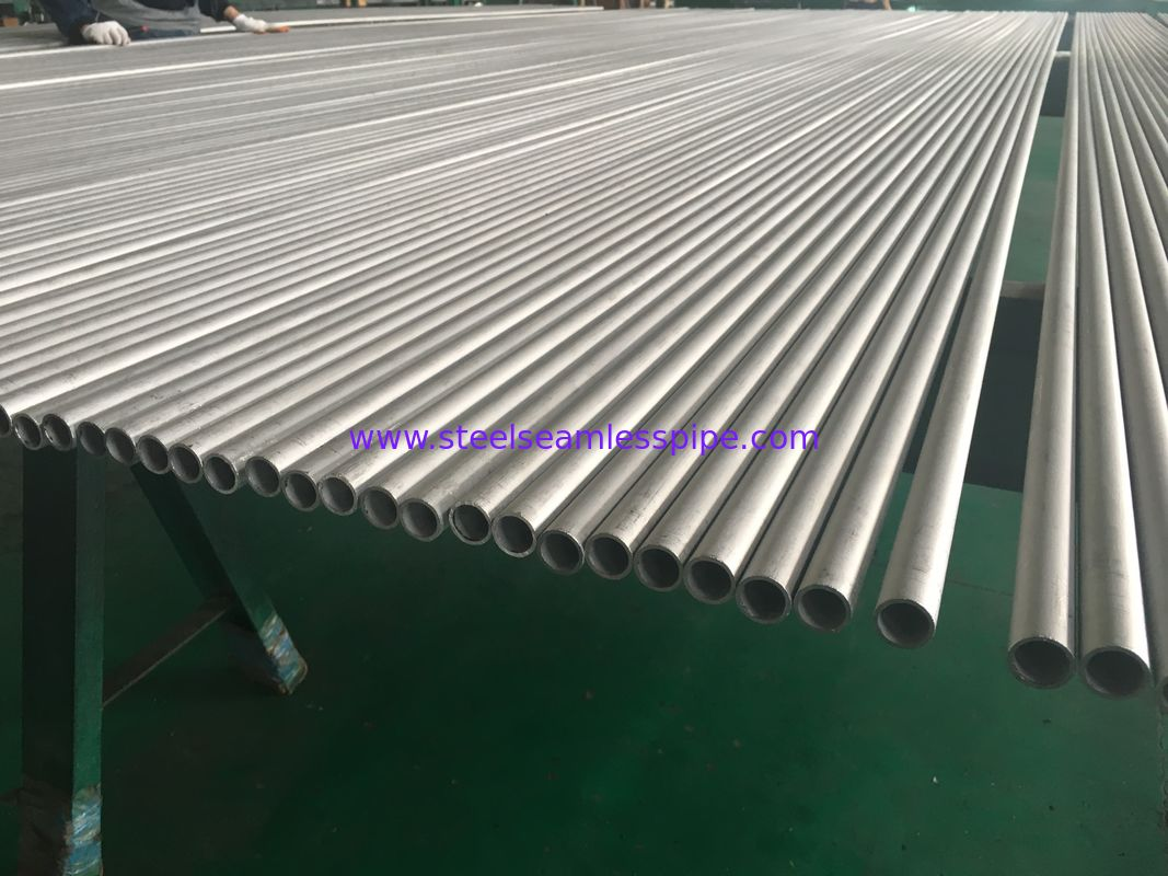 ASTM B444 Gr.2 INCONEL 625  Seamless Tube 25.4 X 2.11 X 6096MM Heat Exchanger Application 100% UT & ET & HT