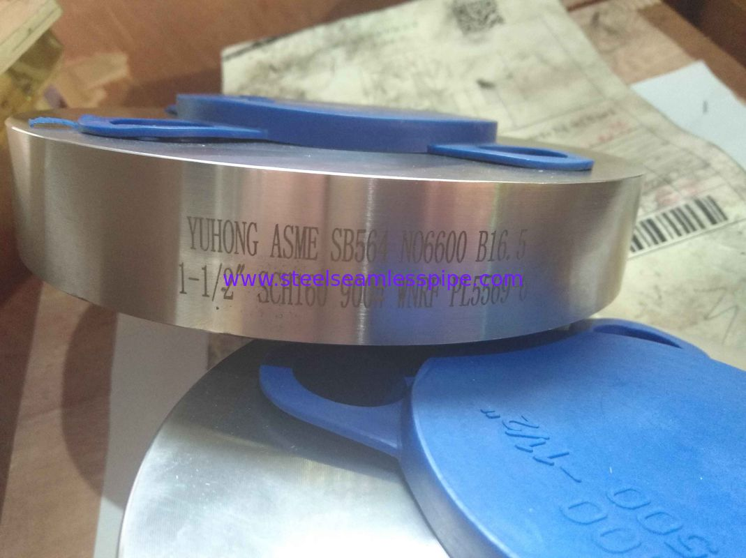 "High Precision Inconel 600 Flanges WN RF 2"" 900 LBS B16.5 ASTM B564 Standard"